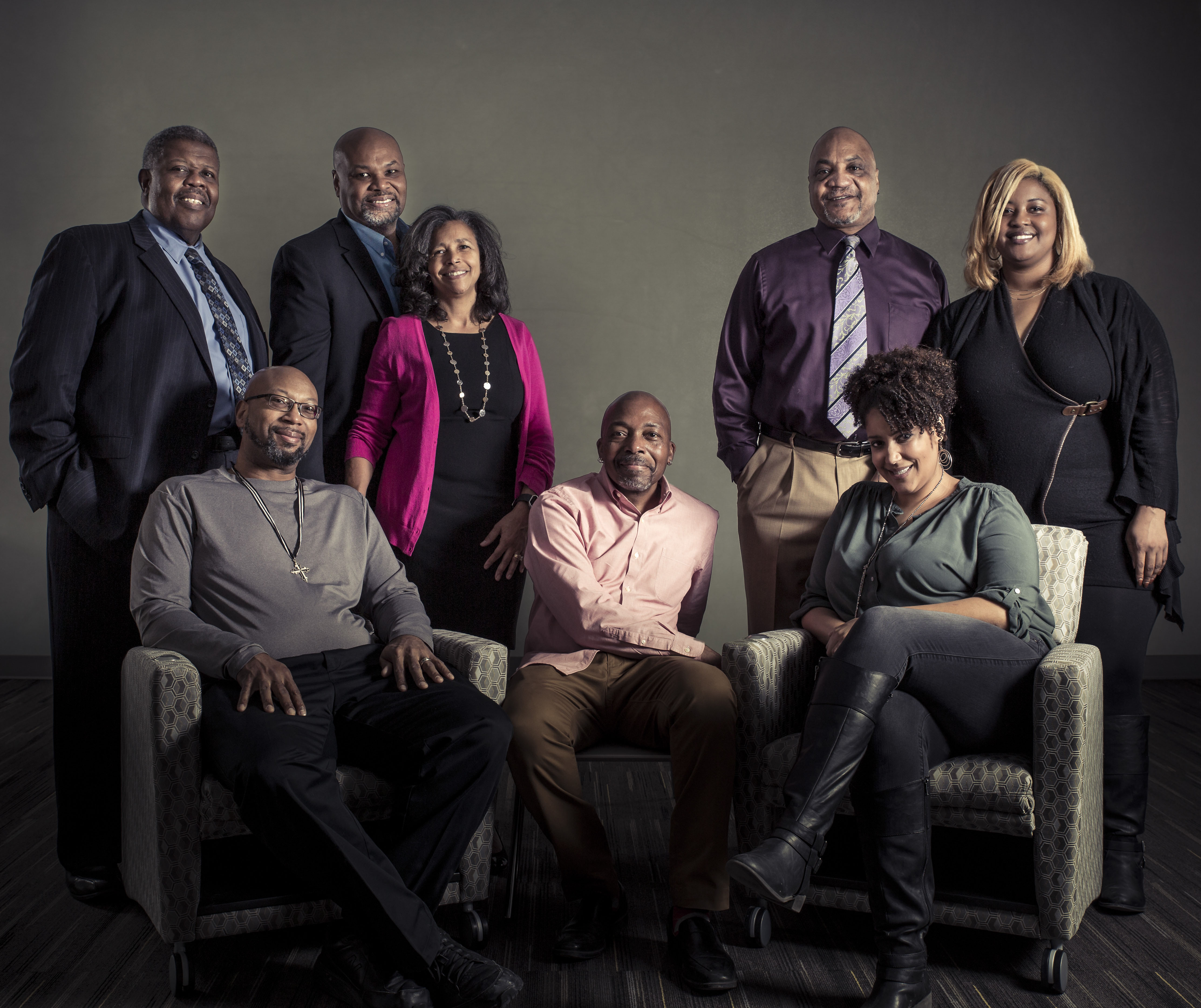 group photo of mentors of the African American Doctoral Scholars Initiative