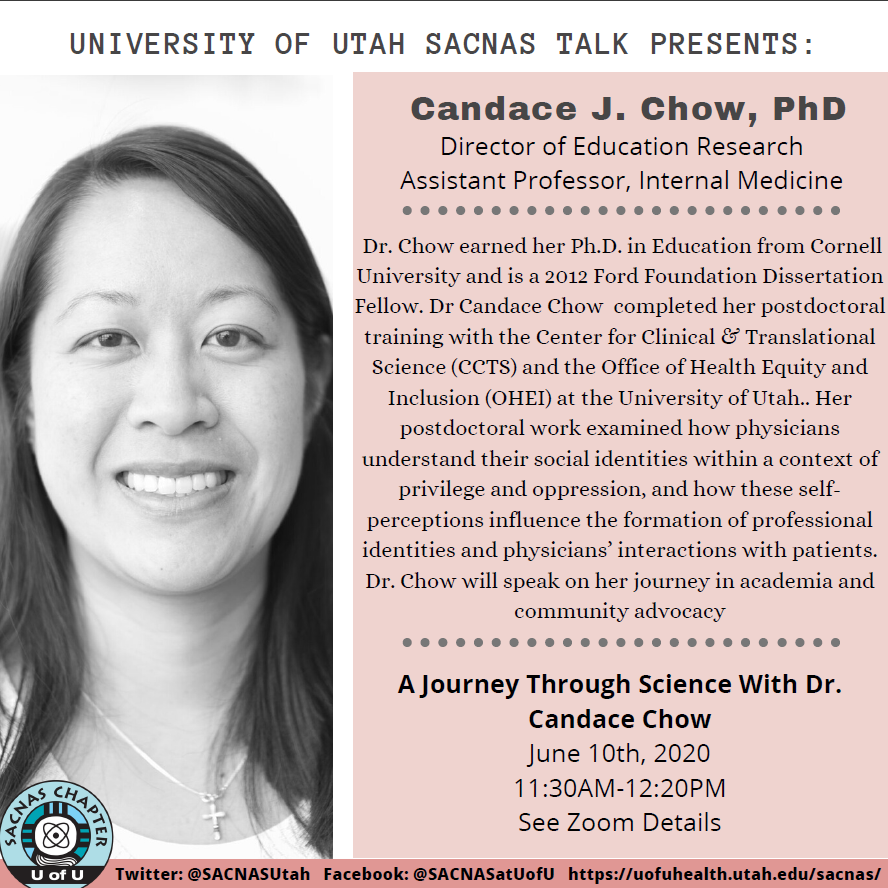 Candace J Chow, PhD; Director of Education Research; Assistant Professor, Internal Medicine