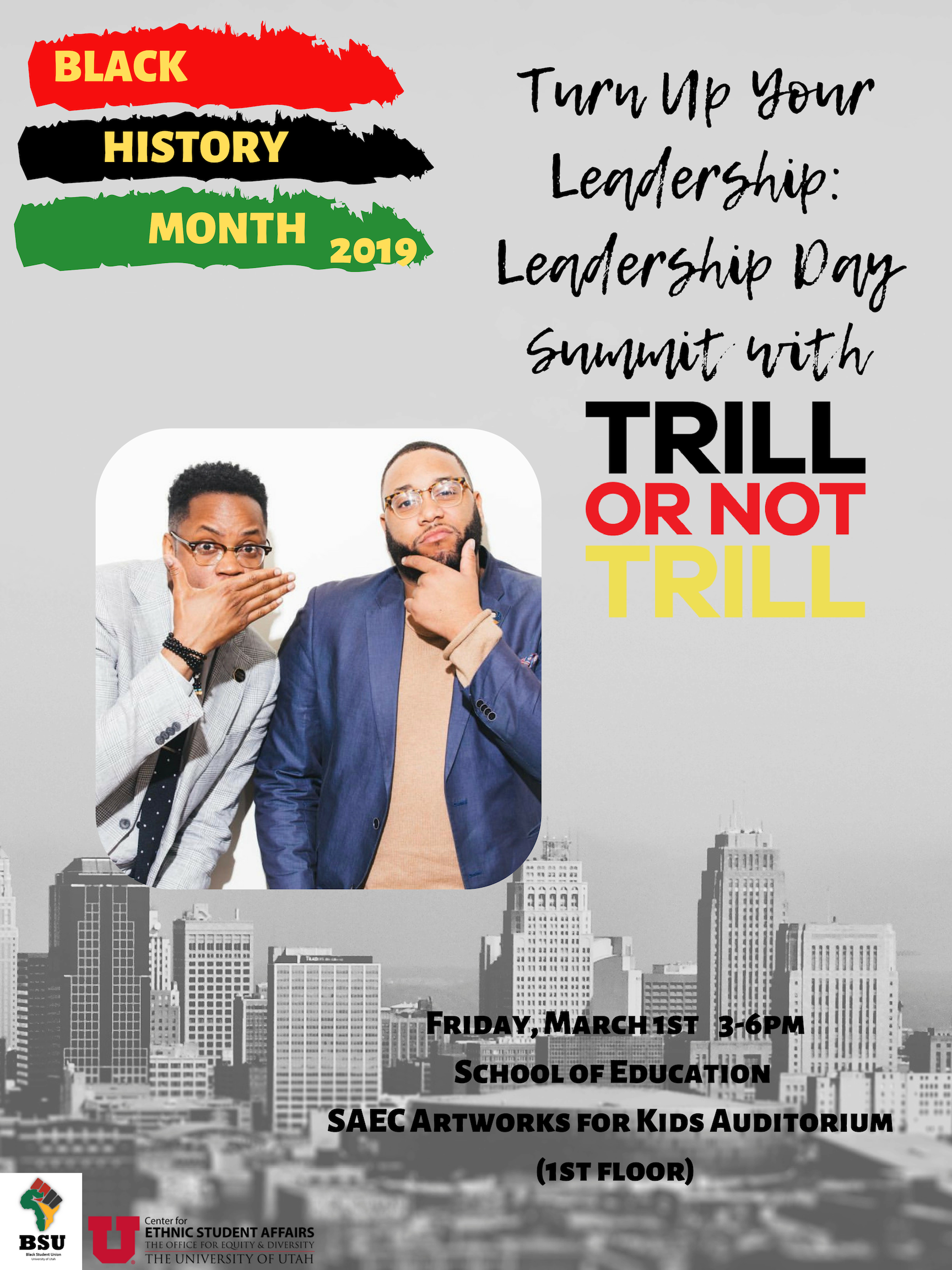 Turn Up Your Leadership Day Summit with Trill or Not Trill
