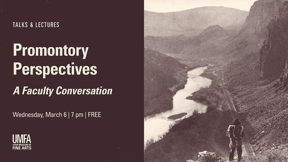 Talks & Lectures: Promontory Perspectives: A Faculty Conversation on Wednesday, March 6 at 7 PM for FREE